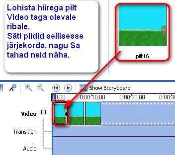 Klassid video suurendamiseks video Keskosa mootmed